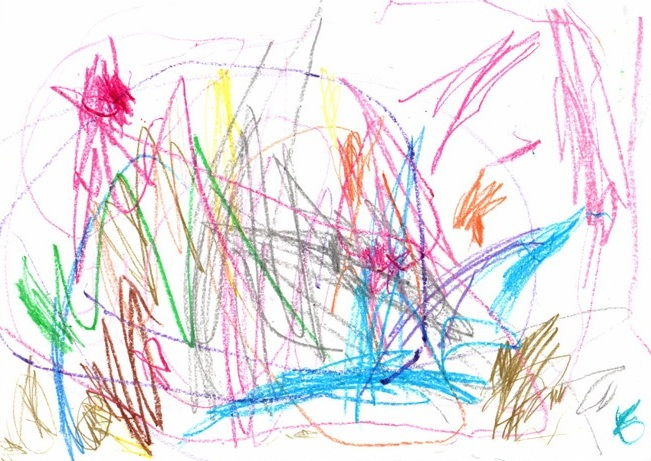 Scribble Drawing For Kids : Childhood nightmares children drawing center